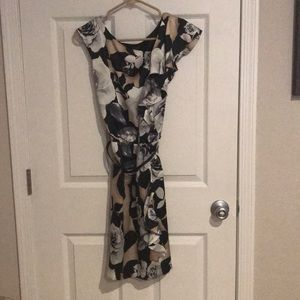 NWT- White House Black Market knee length dress.